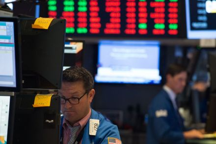 TSX falls as North Korea tensions spur flight to safety