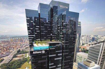 Blackrock Sells Singapore Financial District Landmark