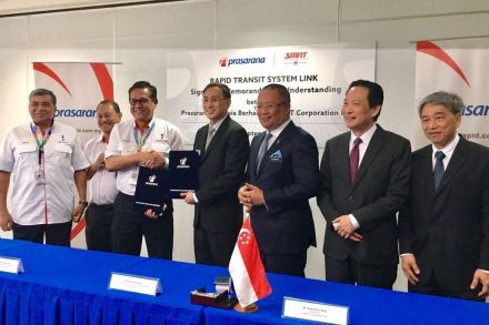Malaysia, Singapore signs MoU to form JV for trans-border rail link