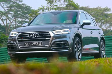 Audi SQ Review Hurry Up And Q Hub THE BUSINESS TIMES - Audi sq5 review