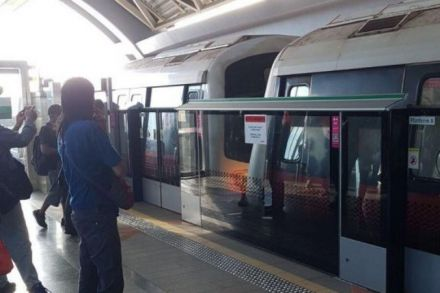 Singapore Train Hits Stationary One, Injuring 25 People