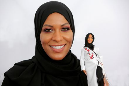New barbie wearing hijab to honor United States  fencer