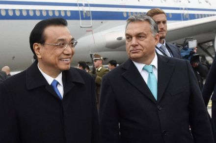 Chinese premier in Hungary for regional summit