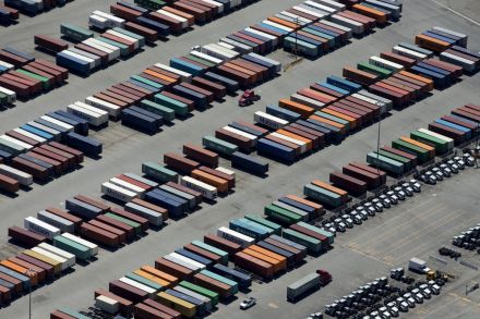 U.S. trade gap broadens in October on all-time record imports