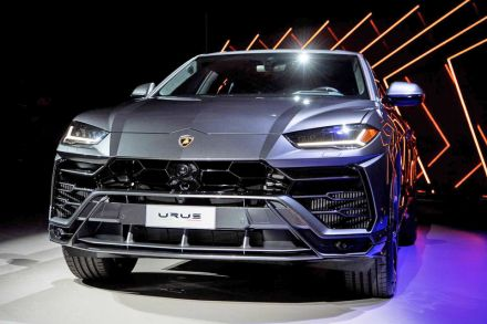 40 orders collected for Lamborghini's new SUV, Hub - THE BUSINESS TIMES
