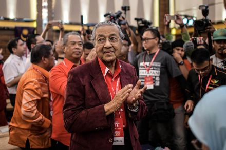 Ex-Malaysia PM Mahathir to run again for office aged 92