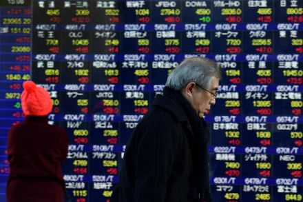 Japan's Nikkei share average hits highest since Nov 1991