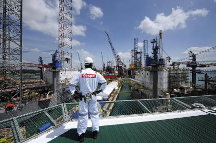 Keppel O M seeks to offload six jack ups for up to US 960m