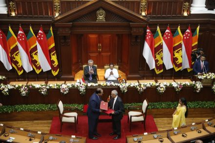 Singapore and Sri Lanka sign free trade agreement
