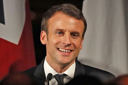 Forget Davos For A Moment Emmanuel Macron Is Making Dinner Banking Finance The Business Times
