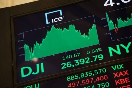 Markets Right Now: Stock indexes power to more record highs
