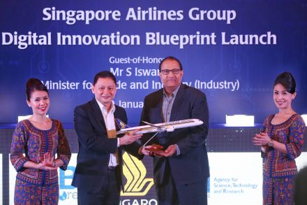 Singapore Airlines inks partnerships to drive digital ambition