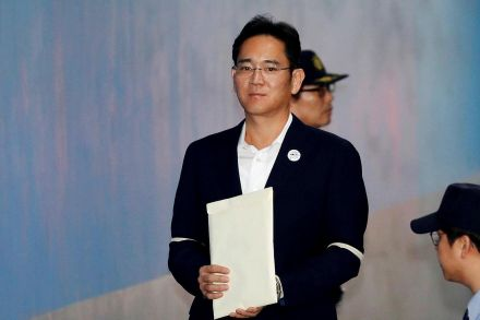 Samsung chief walks free after prison sentence suspended