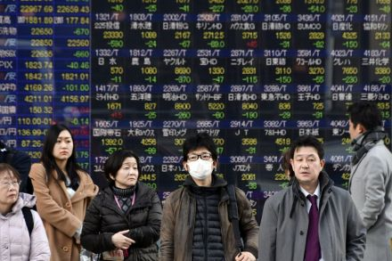 Asian stocks follow Wall Street rally but 'jitters' may continue