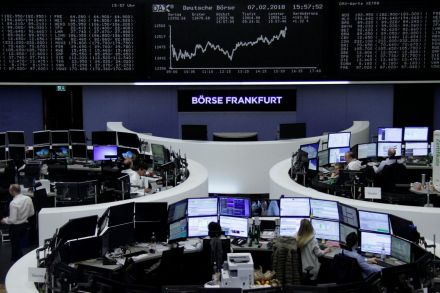 European stocks recover as the global market sell-off pauses