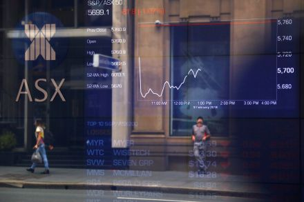 Global shares sink after major U.S. index enters correction