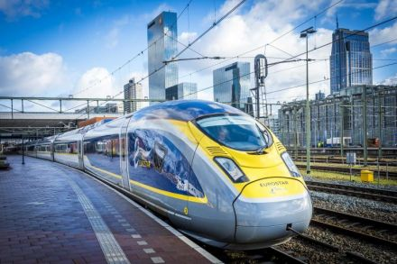 Eurostar unveils new path to Amsterdam