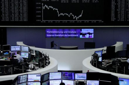 European indices gain on positive cues from Asian markets