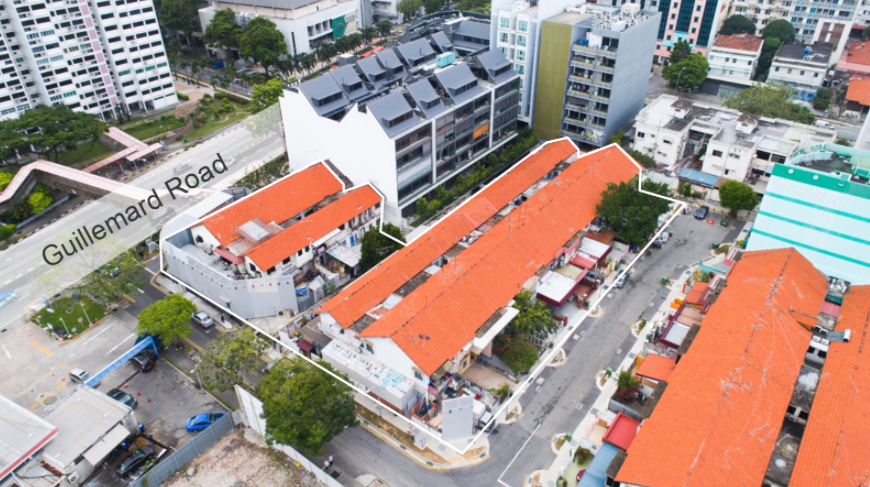 Residential site at Guillemard Road Jalan Molek up for sale by tender at indicative price of S 99m