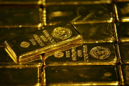 Gold futures fall on firmed USA dollar