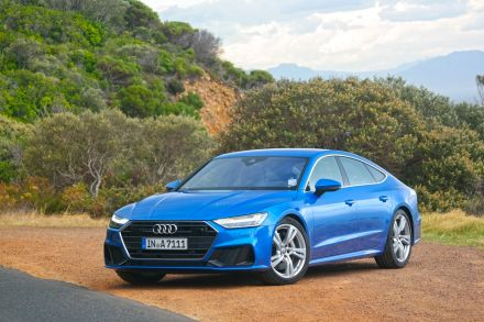 Audi A Sportback Review Rear Admiration Hub THE BUSINESS TIMES - Audi a7 review