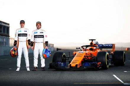 McLaren reveal new car and new look for 2018 F1 season