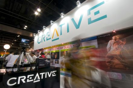 Creative leads tech fever rally on its '3D' sound technology