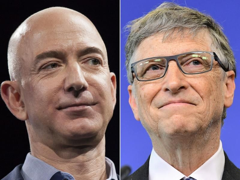 Bezos Tops Forbes World S Rich List Beating Gates Banking