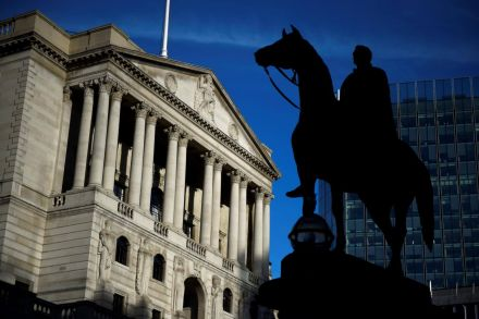 Pound jumps as BoE hints at rate rise in May