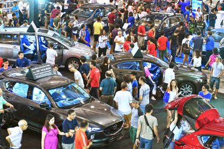 Gear Up For Spores Biggest Auto Show Transport THE BUSINESS TIMES - Show car transport