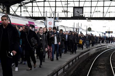 Train strike causes travel chaos in France