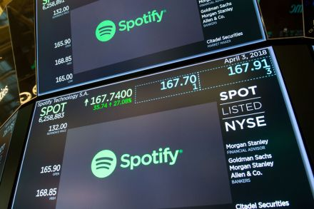 Spotify didn't quite make sweet music with its IPO