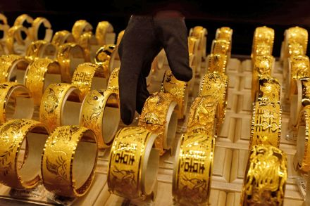 Gold prices fall as US-China trade tensions ease