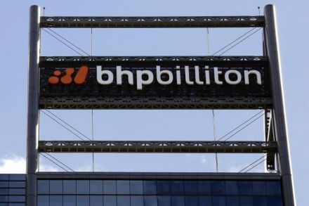 BHP Billiton plc (BLT) Received