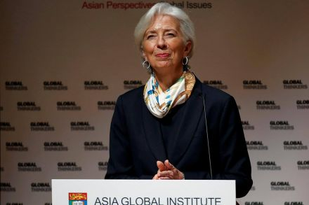 Lagarde warns against debt export through 'Silk Road'