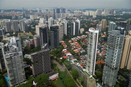 Chart of the Day: Singapore's private home prices up 3.9% in Q1