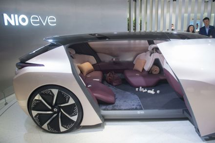Chinas Electric Carmakers Bloom At Beijing Auto Show Transport - New car auto show