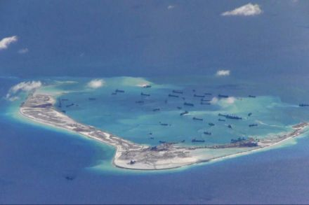 Government 'concerned' by Beijing's South China Sea military build up