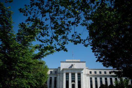 Fed leaves rates unchanged and says inflation is moving higher