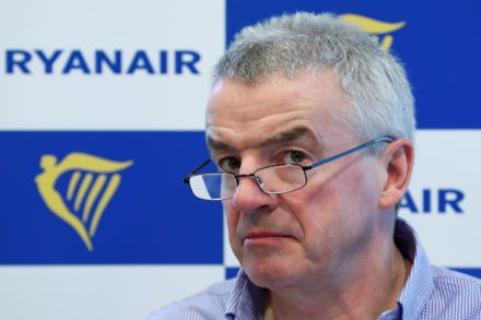 Ryanair posts record annual profit; stays cautious about year ahead