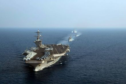 Beijing protests United States  warship operation in South China Sea