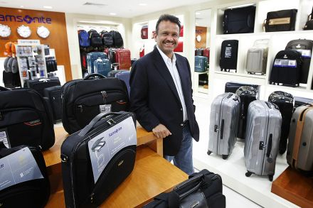 Samsonite boss packs his bags amid claims he lied in CV