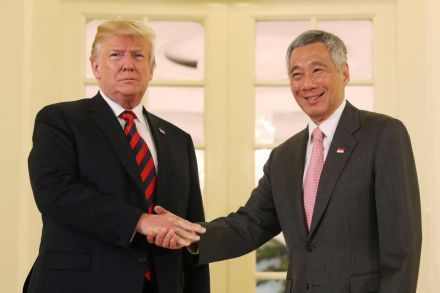 Trump And Kim Arrive In Singapore For Unprecedented Summit