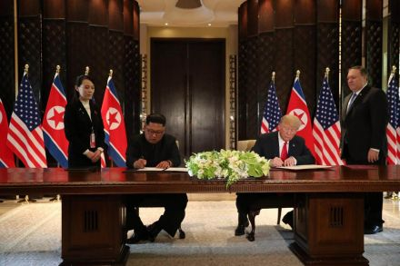 Trump shrugs off Kim's human rights record