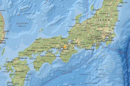 Two dead as strong quake shakes Japan's Osaka
