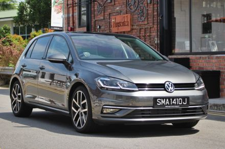 Volkswagen Golf 1 4 review: The high life for S$1,000 a