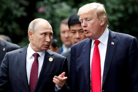 Trump slams reporting of Russian Federation summit
