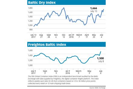 Baltic Exchange Shipping Insights, Transport - THE BUSINESS