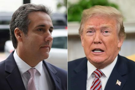 Trump slams ex lawyer over 'hush money tape'