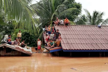 Thick mud hampers Laos dam rescue with hundreds still unaccounted for